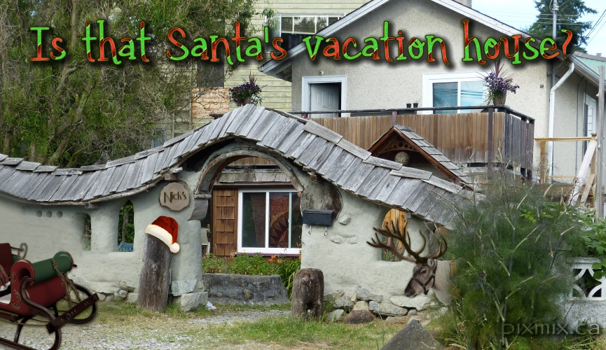Is this Santa's vacation house