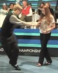 junior shag dance - Kayla & Jeremy