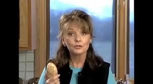 peeling a potato in a snap